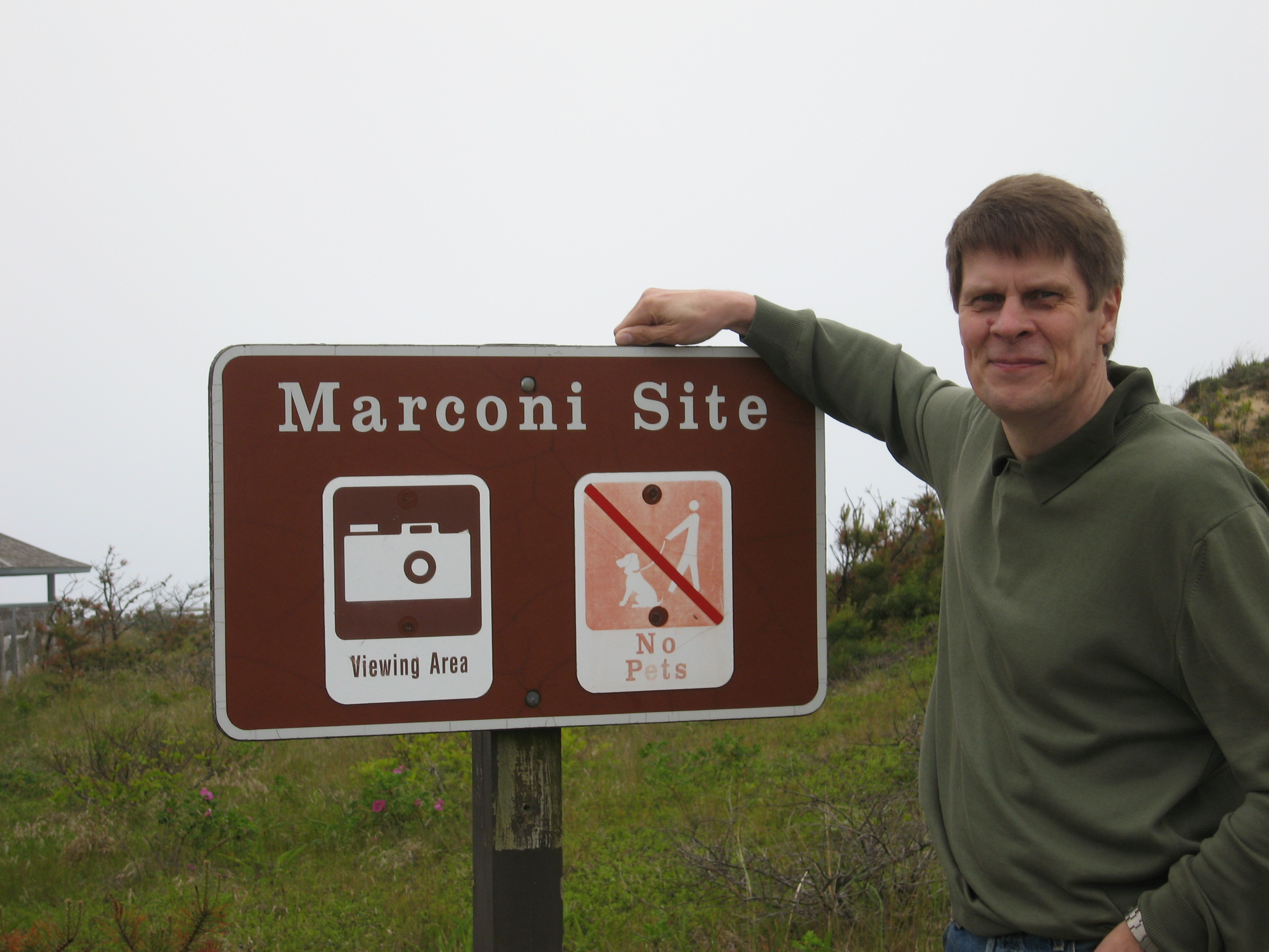 OH7UG at Marconi Site