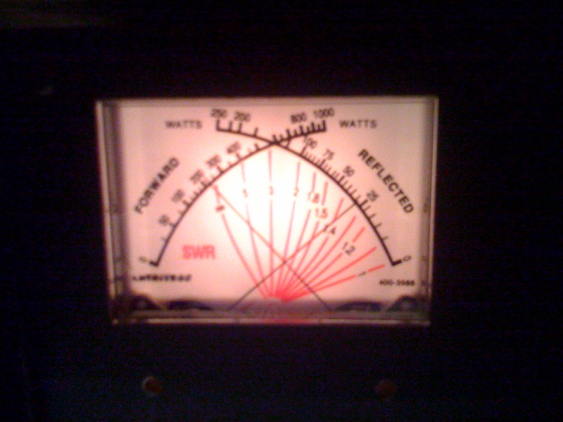 Linear Amplifier SWR Meter Problem